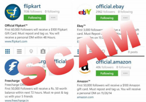 Instagram Scams